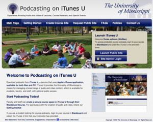 The University of Mississippi on iTunes U