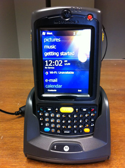 Motorola MC75A to be used by Property Control