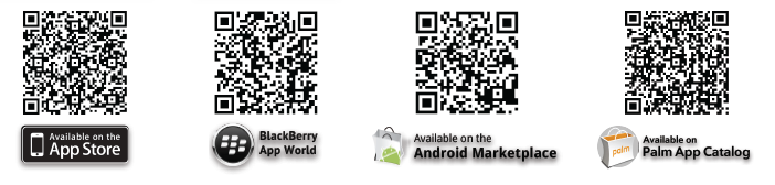 QR Codes to Download Apps
