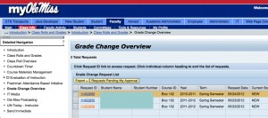 Grade Change Overview